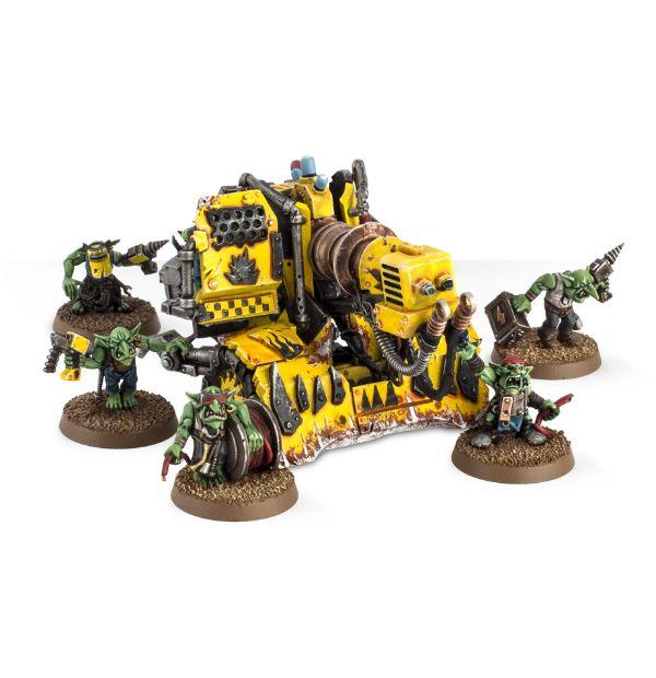Mek Gunz: Kustom Mega-kannon (Orks) - купить миниатюру