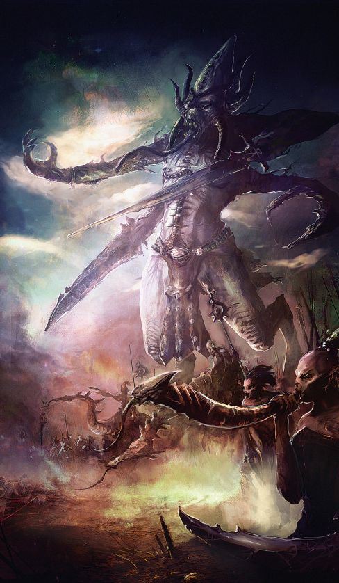 Арт - Daemon of Slaanesh