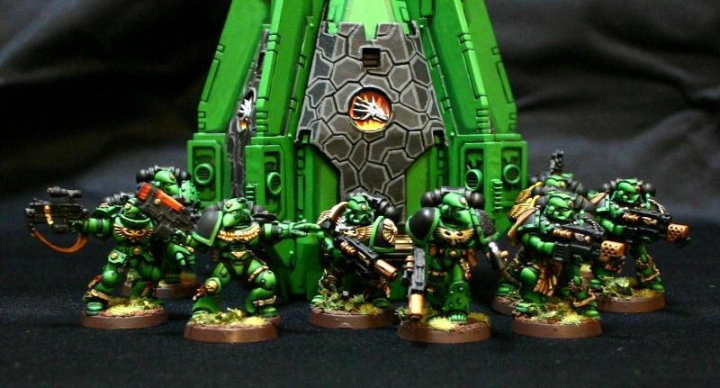 Space Marines - Salamanders