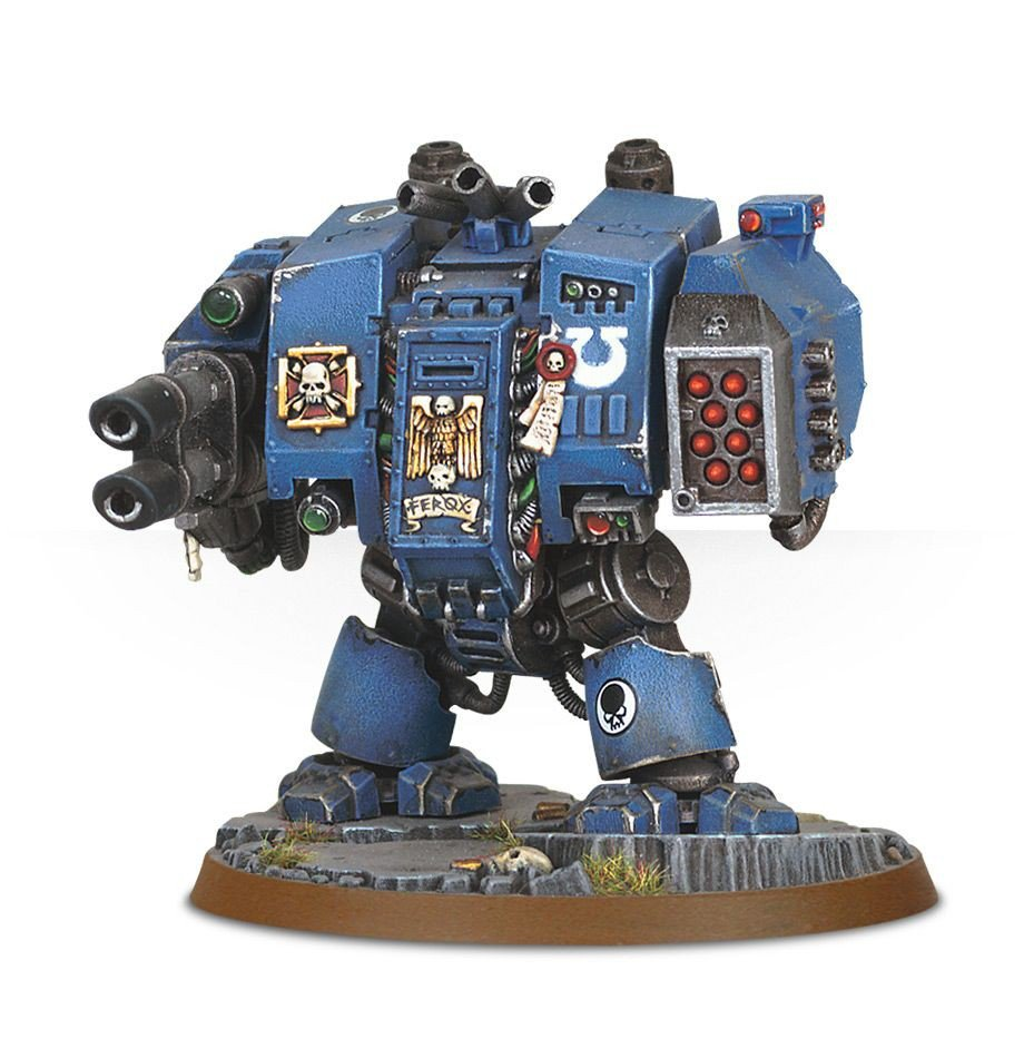 Пошаговая инструкция - Space Marine Dreadnought (ultramarines)