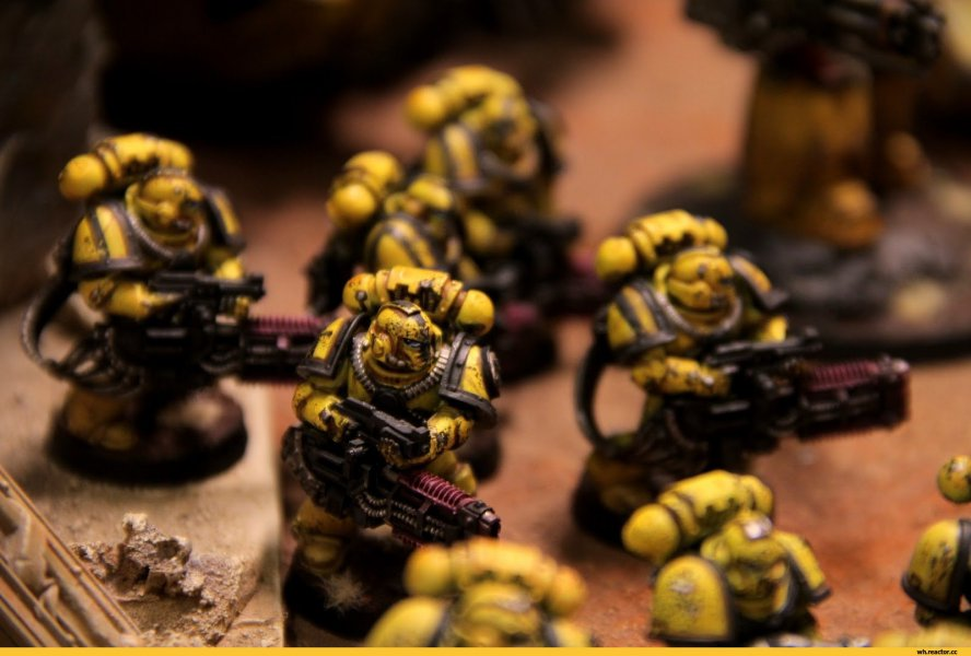 Space marines - Imperial Fists
