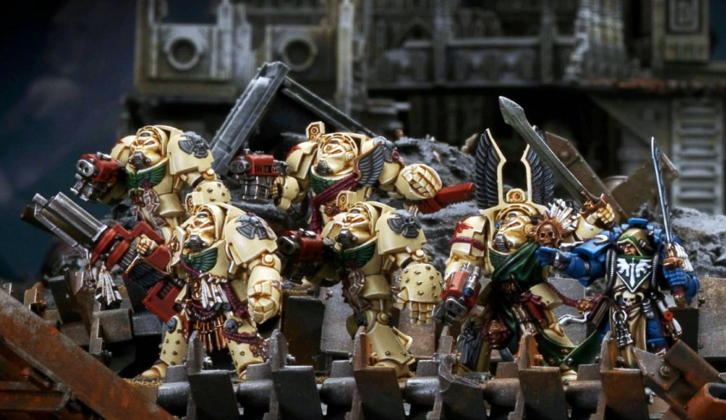 Пошаговая инструкция - Deathwing terminator (Dark Angels, space marines)