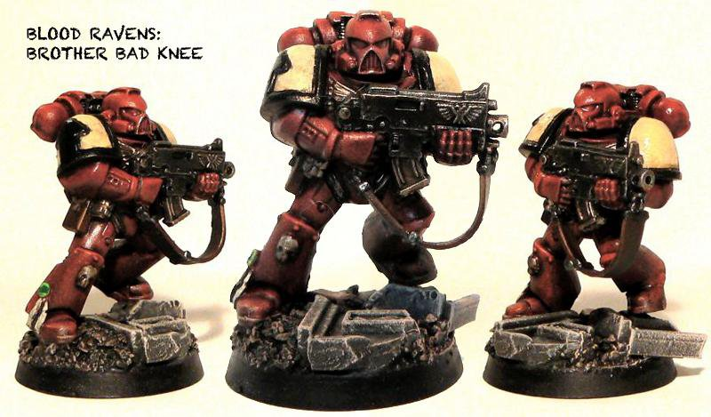 Space Marines - Blood Ravens