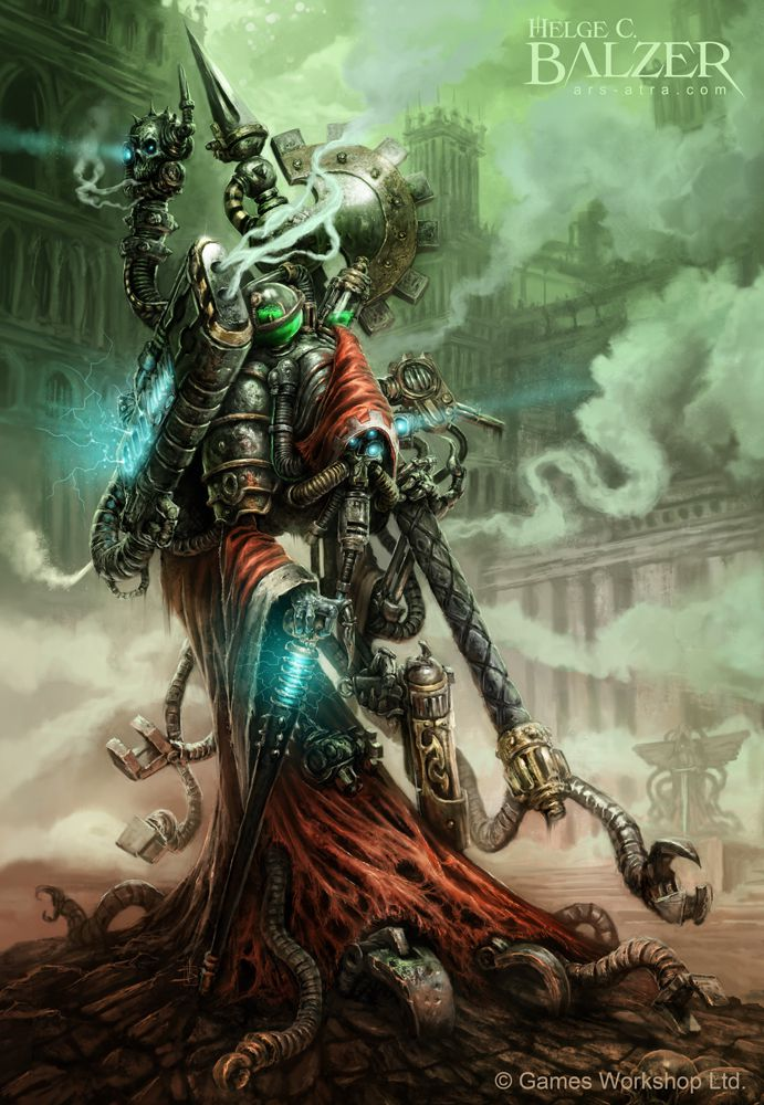 Арт - Adeptus mechanicus - Techpriest
