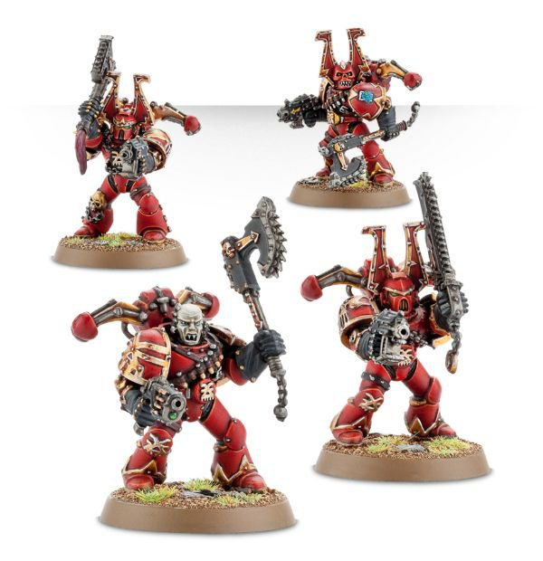 Chaos space marines - World Eaters (Khorne Berzerkers)