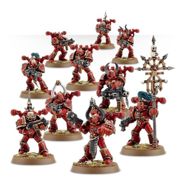 Сhaos space marines - Word Bearers