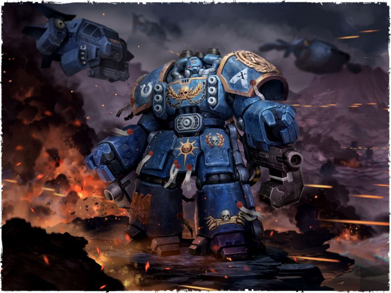 Арт - Space Marines - Centurion
