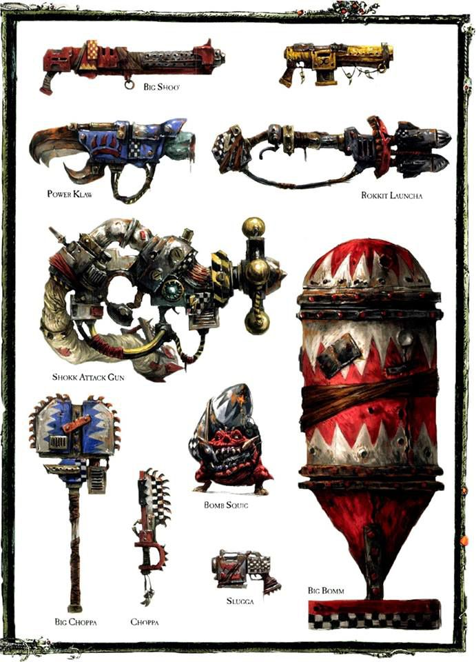 Арт - Weapons of the 41st millennium - Orks