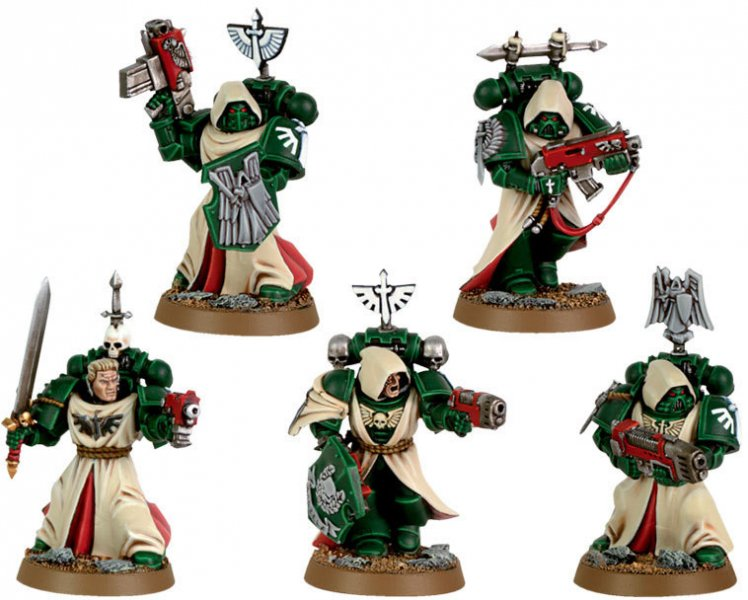 Space marines - Dark Angels (Veteran)