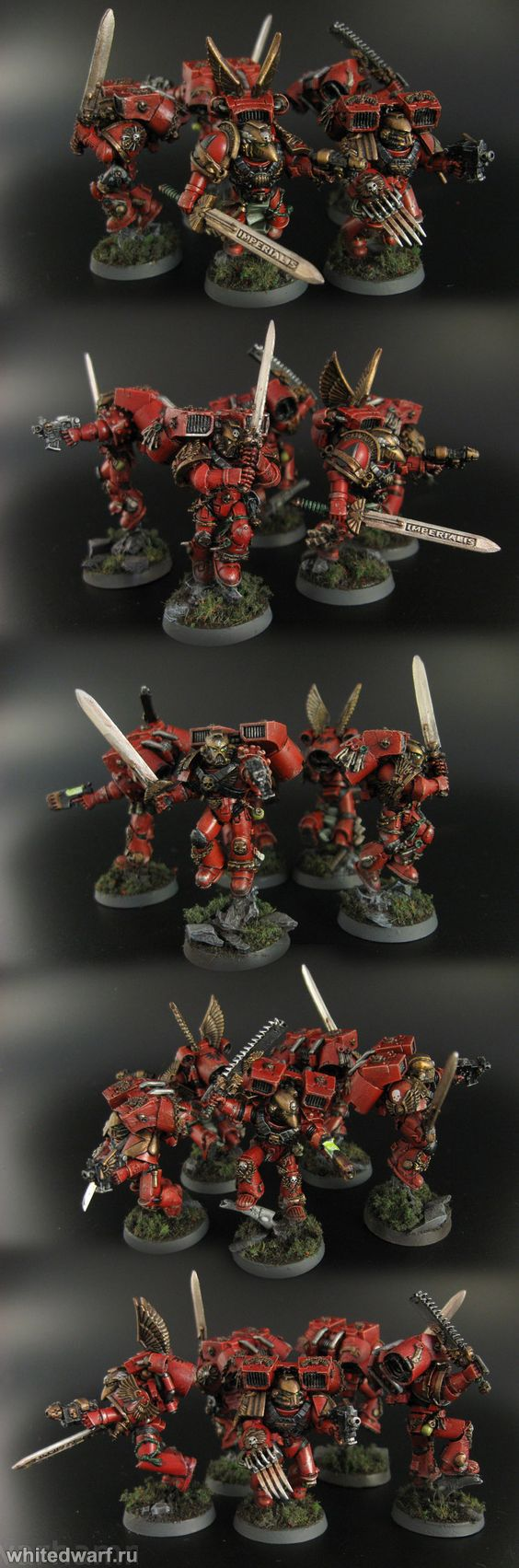 Миниатюры - Space marines - Blood angels